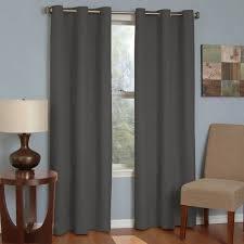 Blackout Curtains For Media Room Eclipse Curtains Microfiber Grommet Blackout Energy Efficient