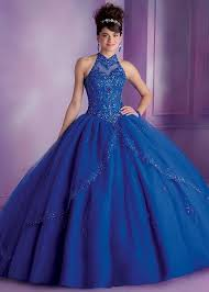 quinceanera blue dresses vizcaya 89001 royal beaded high neck quince dress rissyroos