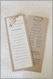 affordable wedding programs affordable wedding programs template resume exles bxk2q8jmyg