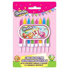 Home Interiors Candles Baked Apple Pie Shopkins Cake Topper U0026 Birthday Candle Set Meijer Com