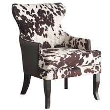 Accent Chair With Arms Angus Ii Accent Chair In Brown Accent Chairs Accent Seating