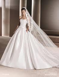 silk wedding dress la sposa 2016 wedding dresses part 2 world of bridal