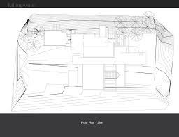 falling water floor plan fallingwater house juliana cervera archinect