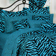 Cheetah Twin Comforter Shop Karin Maki Blue Zebra U0026 Leopard Comforter Collection The