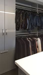 Industrial Closet Organizer - custom closet storage systems with a modern soft industrial decor