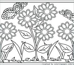 printable coloring pages flowers flower coloring page dog bite a flower coloring page flower coloring