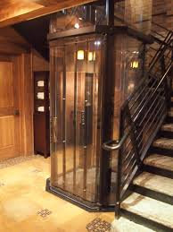 homes with elevators 9 best visilift glass elevators in rustic style homes images on