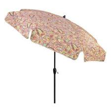 Patterned Patio Umbrellas Paisley Market Umbrellas Patio Umbrellas The Home Depot