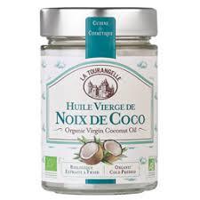 huile de noix de coco cuisine la tourangelle huile de noix de coco bio 25 cl auchan direct