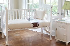 how to pick the right crib mattress naturepedic blog