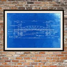 what size paper are blueprints printed on blueprint art of chicago bridge technical drawings engineering