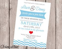 wedding invitation wedding invitation template chevron wedding
