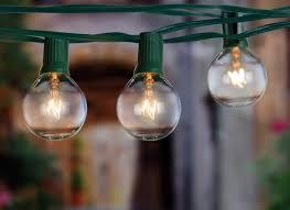 g40 string lights amazoncom globe string lights with 25 g40 bulbs taotronics hommum