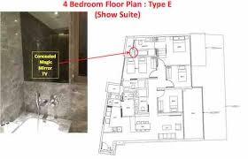 cairnhill nine floor plan showflat 61001778