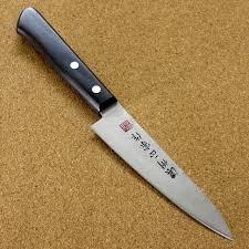 kitchen utility knives japanese masamune kitchen utility knife 4 7 nashiji laminated