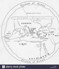 A Map Of The Middle East by Ancient Map Of Europe North Africa And The Middle East Stock