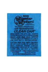 amazon com wonder wafers 25 ct individually wrapped clean car air