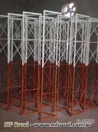 Fabuloso Torre Estaiada e Auto Portante Provedor Internet / FM / TV em  &XV53