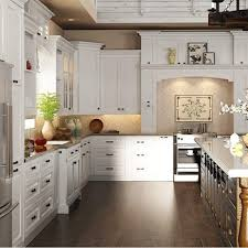 modular solid wood kitchen cabinets fitted kitchen design buy