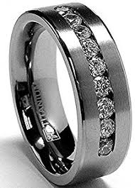 titanium wedding bands for men 8 mm men s titanium ring wedding band with 9 large