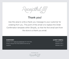 Order Confirmation Template by Does Conversio Replace Shopify S Order Confirmation Conversio