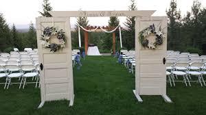 entry decor backyards wedding church door decorating ideas decors chinese