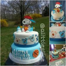 Sports Baby Shower Centerpieces by Best 20 Snoopy Baby Showers Ideas On Pinterest U2014no Signup Required