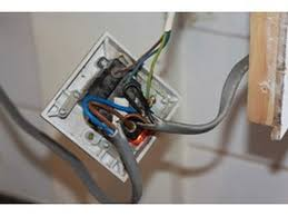 wire central heating unit rewire outside security light