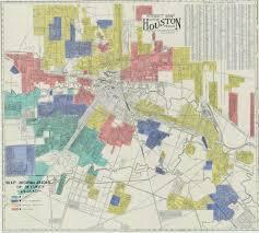 Downtown Houston Map Hazardous The Redlining Of Houston Neighborhoods Offcite Blog