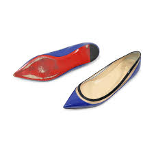 second hand christian louboutin paulina flats the fifth collection