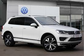 volkswagen touareg 2013 used volkswagen touareg cars for sale motors co uk