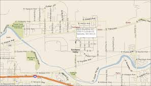 Spokane Wa Map Our Wa Warehouse Location