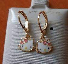 hello earrings hello gold earrings ebay