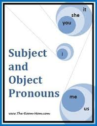 30 best subject and object pronouns images on pinterest teaching