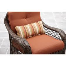 Wicker Patio Conversation Sets Paxton Place 5 Piece Patio Conversation Set With Fire Pit Home