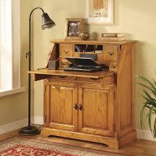 Drop Lid Computer Desk Golden Oak Cambridge Deluxe Desk Home Furnishings
