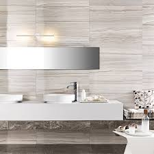 Bathroom Ideas Tiled Walls Marmi Elegance Striato Rectified Wall Tile Black And White