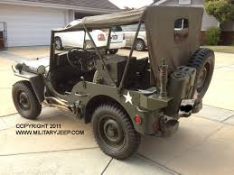 vintage military jeep 1944 willys mb jeep for sale militaryjeep com
