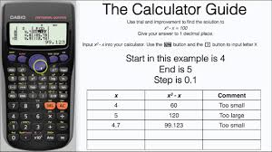 Truth Table Calculator Trial U0026 Improvement Using Table Mode On Casio 5 Steps Method