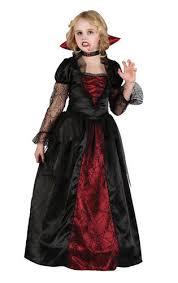 vampiress girls halloween fancy dress vampire kids childrens