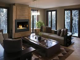 Contemporary Gas Fireplace Insert by Modern Gas Fireplace For Your Interior Natural Wooden Laminate