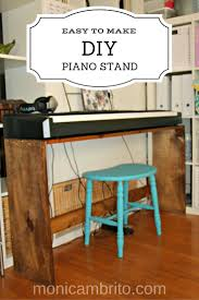 Building A Recording Studio Desk by 12 Best Diy Piano Stand Images On Pinterest Music Rooms Digital