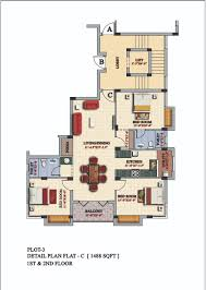 Floor Plan Flat by 3 Bedrooms Duplex Floor Flats Plan Design Photos Of Casagrande