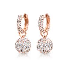 baby hoop earrings baby hoop earrings with diamond spheres pinner