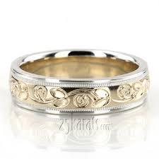 carved wedding bands fancy designer wedding bands engraved wedding bands for men