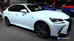 youtube lexus gs 350 f sport 2016 lexus gs 350 f sport awd exterior and interior walkaround