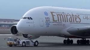 emirates a380 dubai dubai airport airbus a 380 hd 1080p youtube