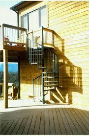 outdoor wooden spiral staircase loccie better homes gardens ideas
