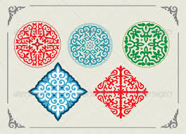 kazakh national ornaments by kuntugan graphicriver