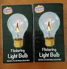 light bulb fascinating halloween flickering light bulbs